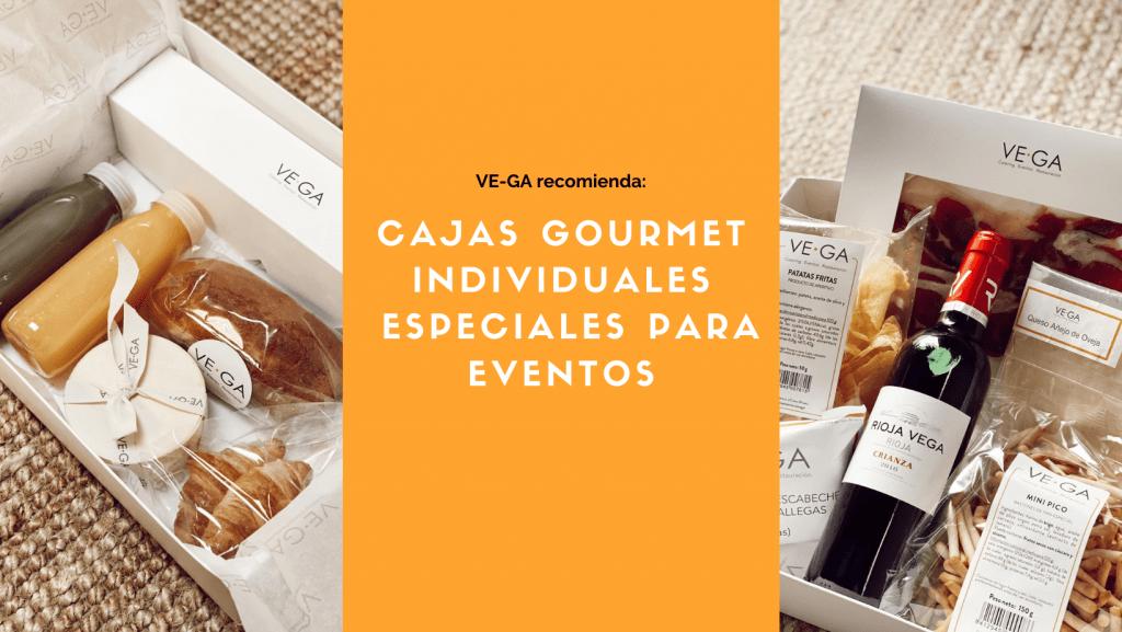 recomendación de vega catering, cajas gourmet para eventos